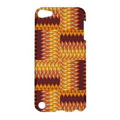 Geometric Pattern Apple Ipod Touch 5 Hardshell Case by linceazul