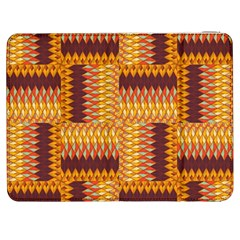 Geometric Pattern Samsung Galaxy Tab 7  P1000 Flip Case by linceazul