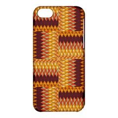 Geometric Pattern Apple Iphone 5c Hardshell Case by linceazul
