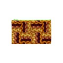 Geometric Pattern Cosmetic Bag (xs) by linceazul