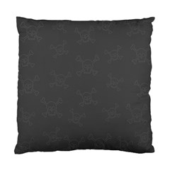 Skull Pattern Standard Cushion Case (two Sides) by ValentinaDesign
