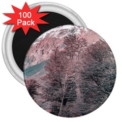 Gravel Empty Road Parque Nacional Los Glaciares Patagonia Argentina 3  Magnets (100 Pack) by dflcprints