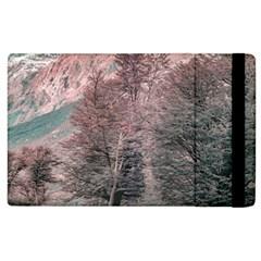 Gravel Empty Road Parque Nacional Los Glaciares Patagonia Argentina Apple Ipad 3/4 Flip Case by dflcprints