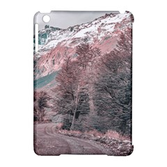 Gravel Empty Road Parque Nacional Los Glaciares Patagonia Argentina Apple Ipad Mini Hardshell Case (compatible With Smart Cover) by dflcprints