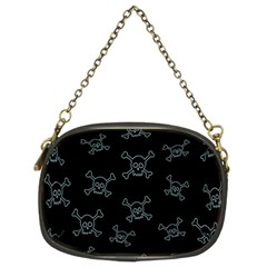 Skull Pattern Chain Purses (two Sides)  by ValentinaDesign