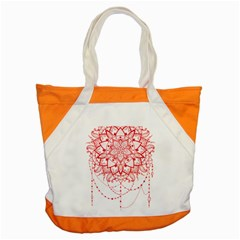Mandala Pretty Design Pattern Accent Tote Bag