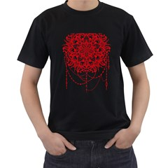 Mandala Pretty Design Pattern Men s T Shirt (black)