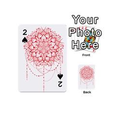 Mandala Pretty Design Pattern Playing Cards 54 (mini)