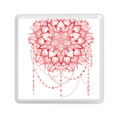 Mandala Pretty Design Pattern Memory Card Reader (square)