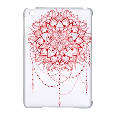 Mandala Pretty Design Pattern Apple Ipad Mini Hardshell Case (compatible With Smart Cover) by Nexatart