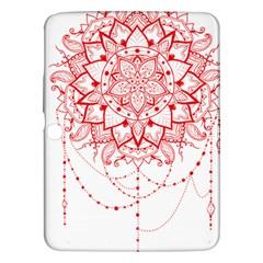 Mandala Pretty Design Pattern Samsung Galaxy Tab 3 (10 1 ) P5200 Hardshell Case