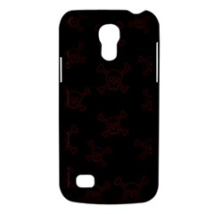 Skull Pattern Galaxy S4 Mini by ValentinaDesign