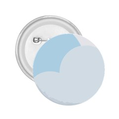 Cloud Sky Blue Decorative Symbol 2 25  Buttons by Nexatart