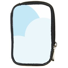 Cloud Sky Blue Decorative Symbol Compact Camera Cases by Nexatart
