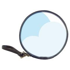 Cloud Sky Blue Decorative Symbol Classic 20 Cd Wallets