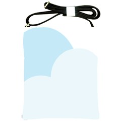 Cloud Sky Blue Decorative Symbol Shoulder Sling Bags by Nexatart
