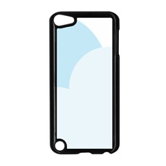 Cloud Sky Blue Decorative Symbol Apple Ipod Touch 5 Case (black)