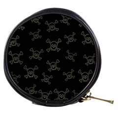 Skull Pattern Mini Makeup Bags by ValentinaDesign