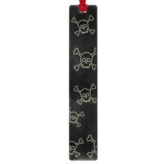 Skull Pattern Large Book Marks by ValentinaDesign