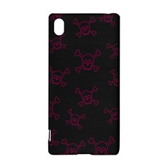 Skull Pattern Sony Xperia Z3+ by ValentinaDesign