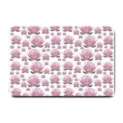 Lotus Small Doormat  by ValentinaDesign