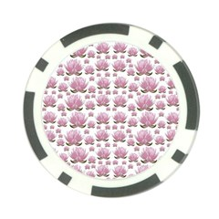 Lotus Poker Chip Card Guard (10 Pack) by ValentinaDesign