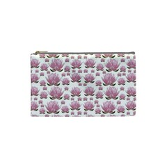 Lotus Cosmetic Bag (small)  by ValentinaDesign
