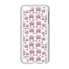 Lotus Apple Ipod Touch 5 Case (white) by ValentinaDesign