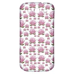 Lotus Samsung Galaxy S3 S Iii Classic Hardshell Back Case by ValentinaDesign