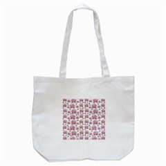 Lotus Tote Bag (white) by ValentinaDesign