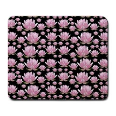 Lotus Large Mousepads by ValentinaDesign