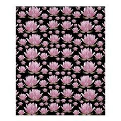 Lotus Shower Curtain 60  X 72  (medium)  by ValentinaDesign
