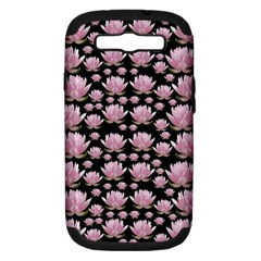 Lotus Samsung Galaxy S Iii Hardshell Case (pc+silicone) by ValentinaDesign