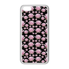 Lotus Apple Iphone 5c Seamless Case (white) by ValentinaDesign