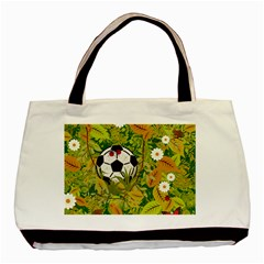 Ball On Forest Floor Basic Tote Bag by linceazul