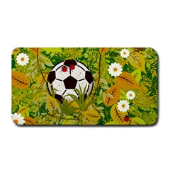 Ball On Forest Floor Medium Bar Mats by linceazul