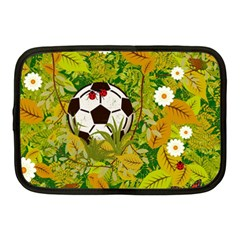 Ball On Forest Floor Netbook Case (medium)  by linceazul