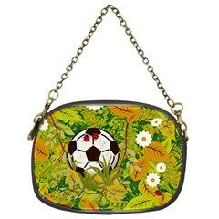 Ball On Forest Floor Chain Purses (one Side)  by linceazul