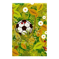 Ball On Forest Floor Shower Curtain 48  X 72  (small)  by linceazul