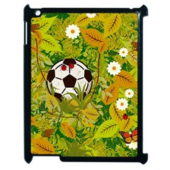 Ball On Forest Floor Apple Ipad 2 Case (black) by linceazul