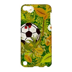 Ball On Forest Floor Apple Ipod Touch 5 Hardshell Case by linceazul
