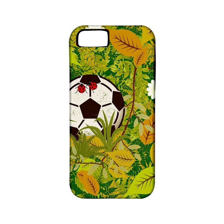 Ball On Forest Floor Apple iPhone 5 Classic Hardshell Case (PC+Silicone)
