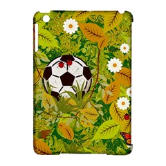 Ball On Forest Floor Apple iPad Mini Hardshell Case (Compatible with Smart Cover) by linceazul