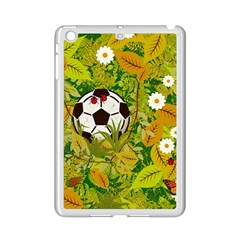 Ball On Forest Floor Ipad Mini 2 Enamel Coated Cases by linceazul
