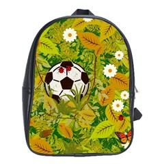 Ball On Forest Floor School Bags (xl)  by linceazul