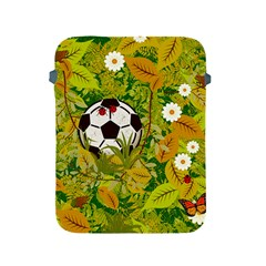 Ball On Forest Floor Apple Ipad 2/3/4 Protective Soft Cases by linceazul
