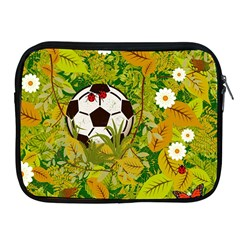 Ball On Forest Floor Apple Ipad 2/3/4 Zipper Cases by linceazul