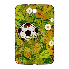 Ball On Forest Floor Samsung Galaxy Note 8 0 N5100 Hardshell Case  by linceazul