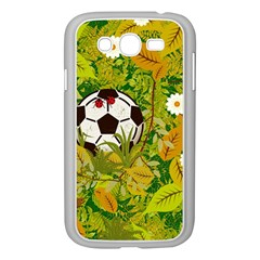 Ball On Forest Floor Samsung Galaxy Grand Duos I9082 Case (white) by linceazul
