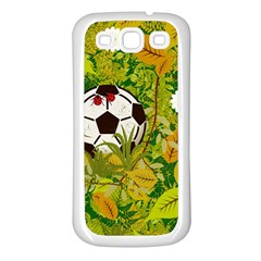 Ball On Forest Floor Samsung Galaxy S3 Back Case (white) by linceazul